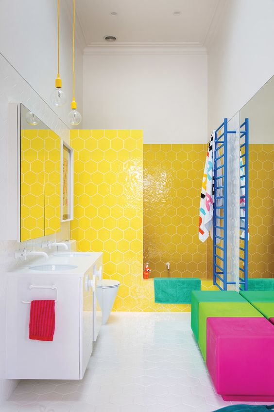 yellow bathroom ideas 5