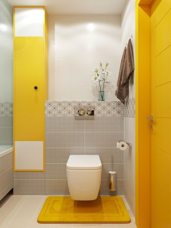 yellow bathroom ideas 6