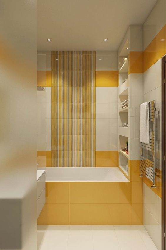 yellow bathroom ideas 7