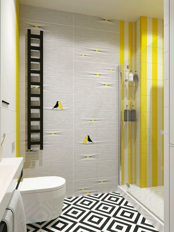 yellow bathroom ideas 8