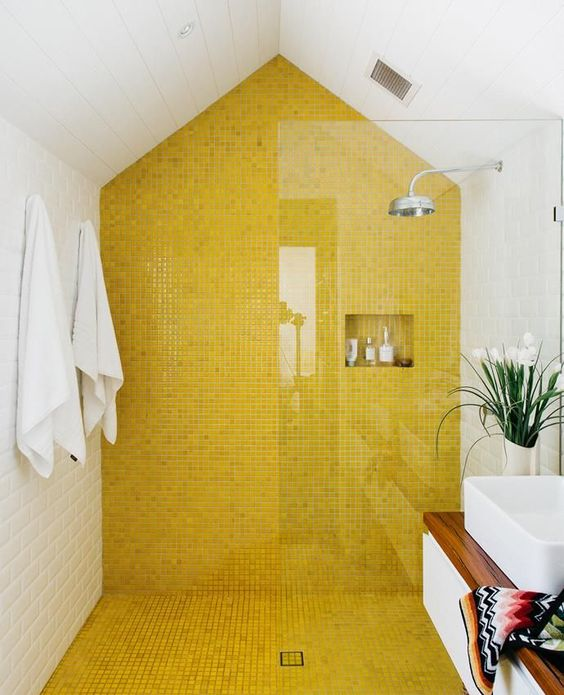 yellow bathroom ideas 9