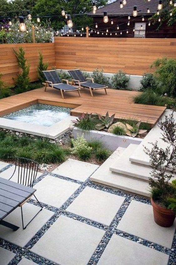 backyard hot tub ideas 10