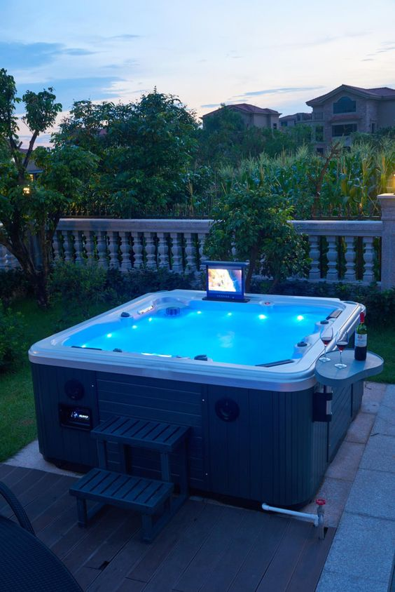 backyard hot tub ideas 17