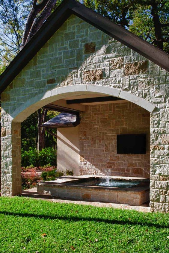 backyard hot tub ideas 5