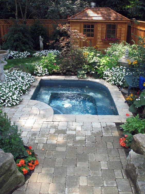 backyard hot tub ideas 8