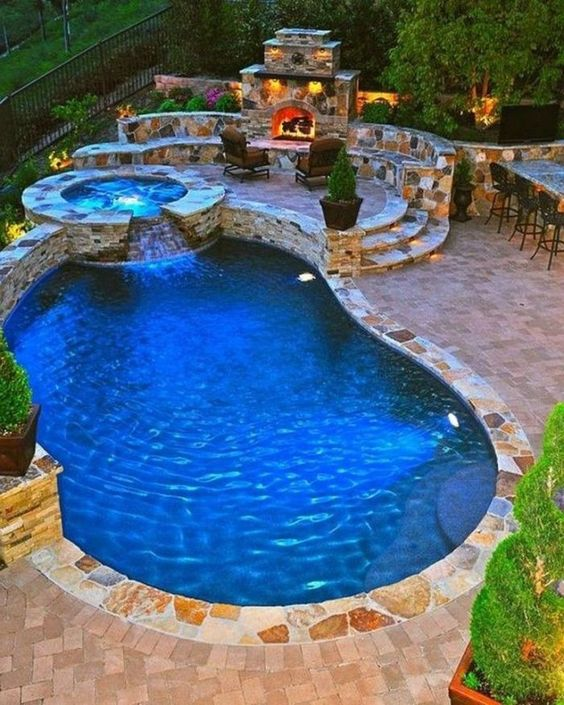 backyard pool ideas 8
