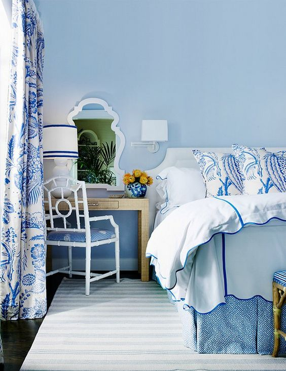 Bedroom Blue Ideas: Fresh Light Blue