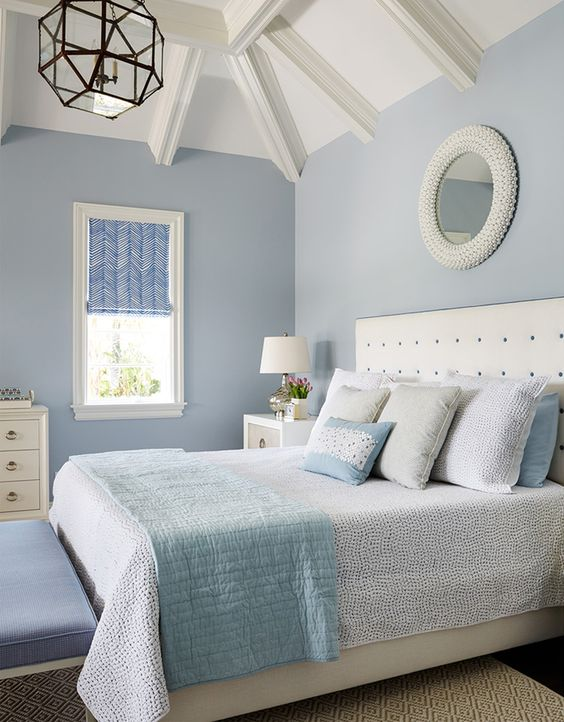Bedroom Blue Ideas: Calming Beachy Room