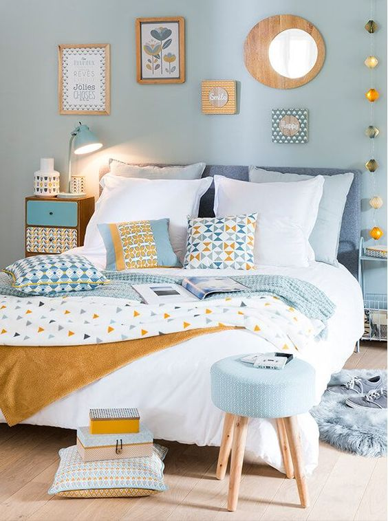 bedroom blue ideas 7