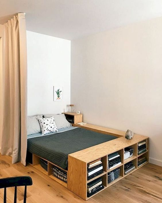 Bedroom Storage Ideas: Less Bulky Furniture