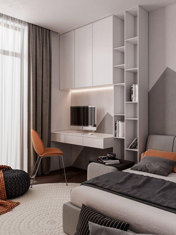 Bedroom Storage Ideas: Sleek Cabinets and Shelves
