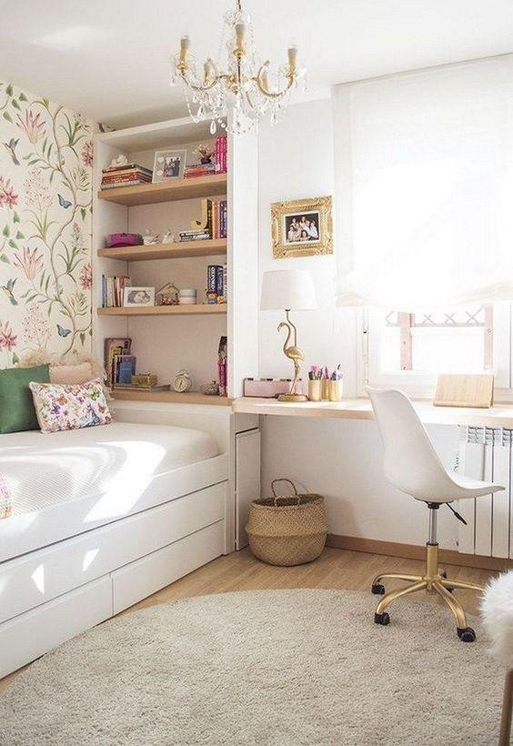 Bedroom Teenage Bedroom Ideas: Simple and Elegant