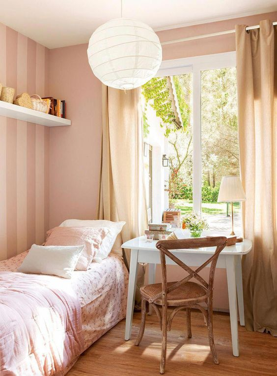 Bedroom Teenage Bedroom Ideas: Dreamy Pastel Bedroom