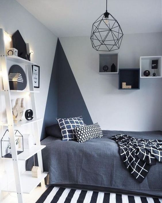 Bedroom Teenage Bedroom Ideas: Bold and Stylish