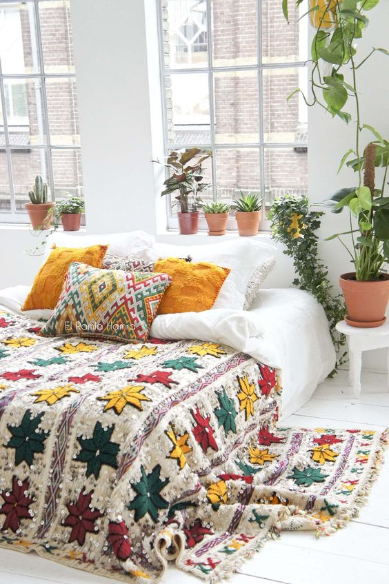 boho bedroom ideas 14