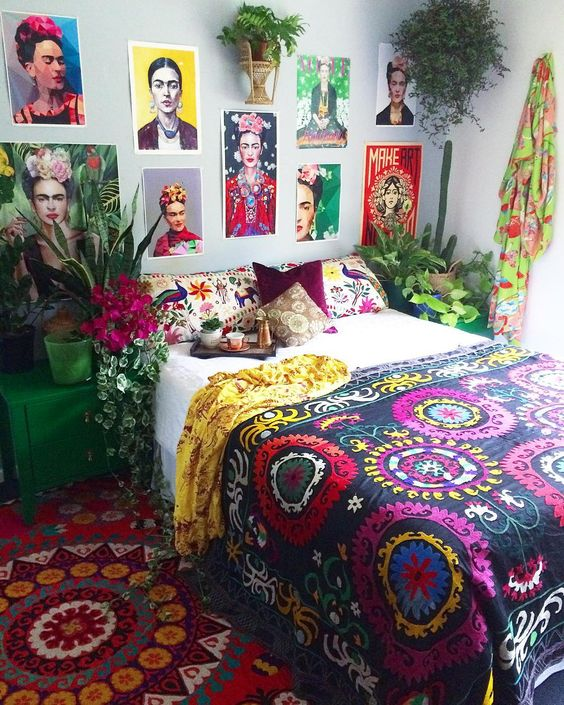boho bedroom ideas 15