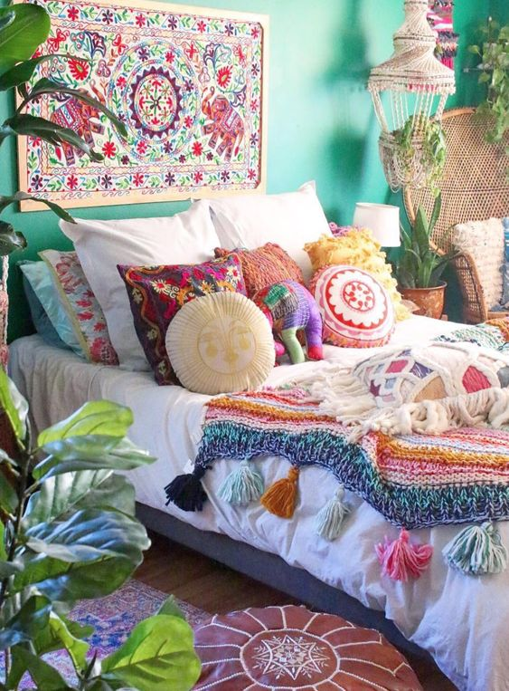 boho bedroom ideas 16