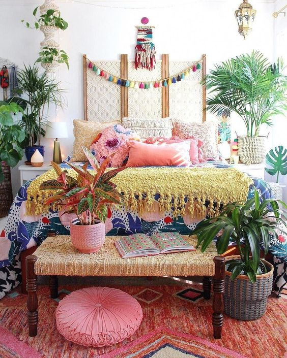 boho bedroom ideas 17