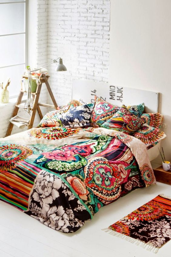 Boho Bedroom Ideas: Simple Boho