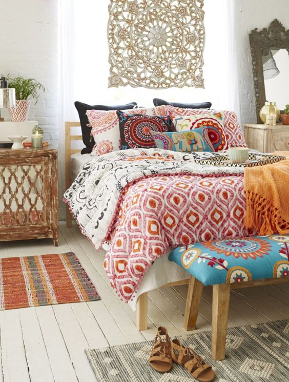 boho bedroom ideas 5