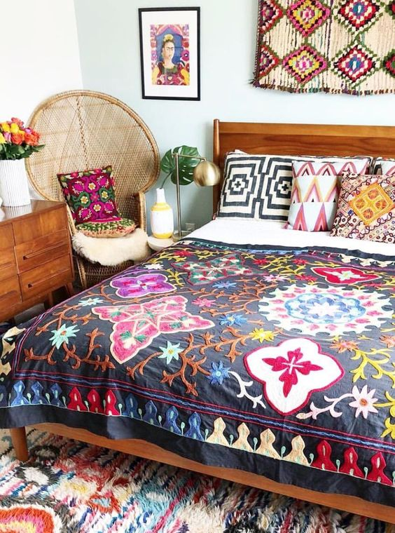 boho bedroom ideas 6