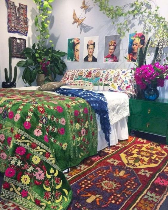 boho bedroom ideas 9