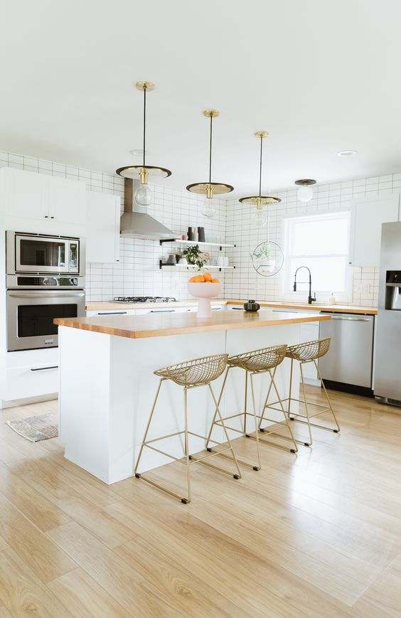Kitchen Island Ideas: Dazzling Earthy Island