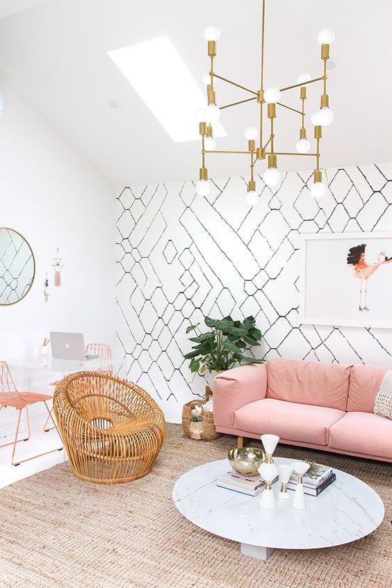 Living Room Wallpaper Ideas: Unique Room Wallpaper