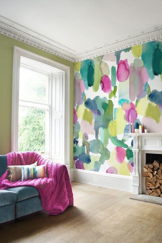 living room wallpaper ideas 8
