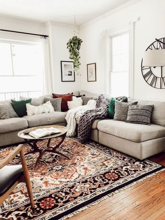 sectional living room ideas 19