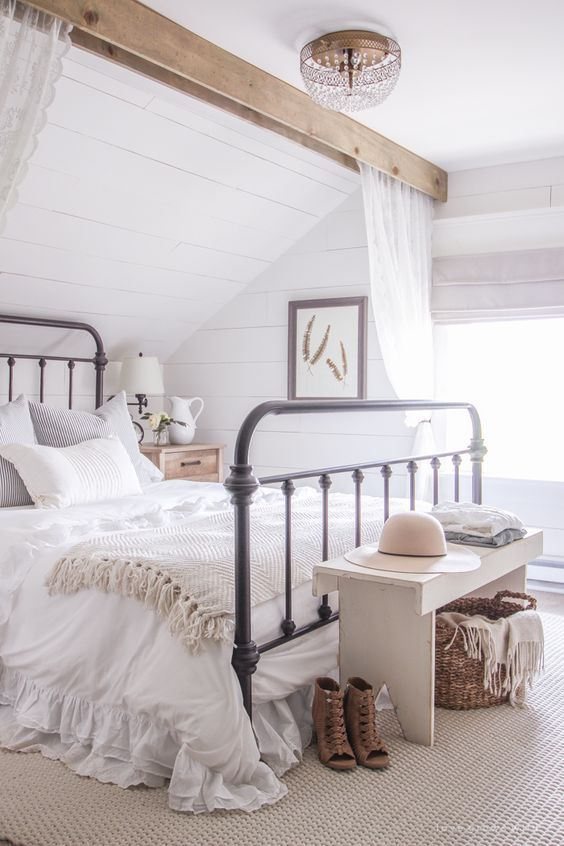 shabby chic bedroom ideas 11