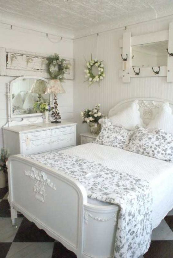 shabby chic bedroom ideas 13