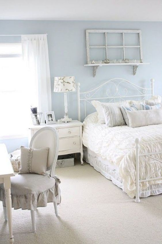shabby chic bedroom ideas 17
