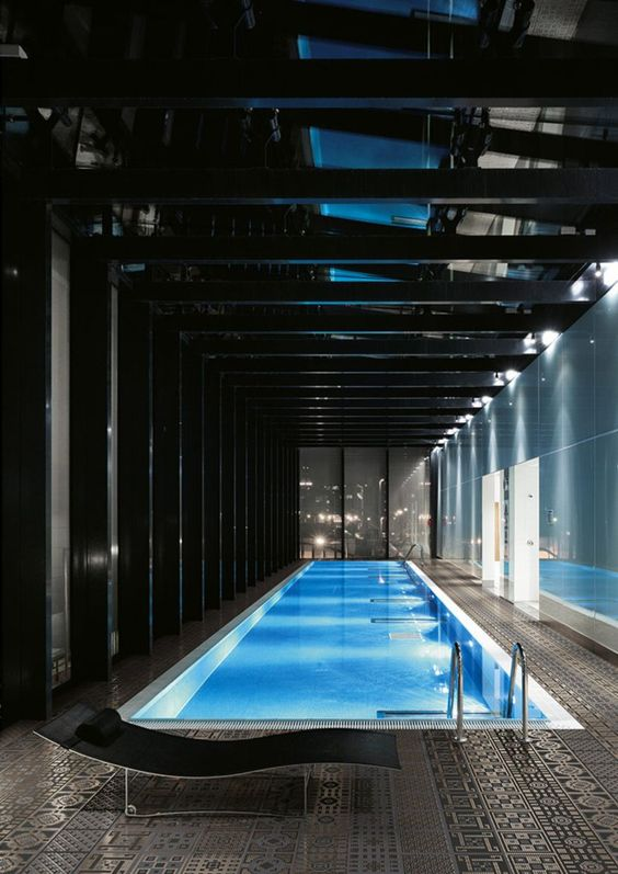 Swimming Pool Lighting Ideas: Breathtaking Indoor Pool
