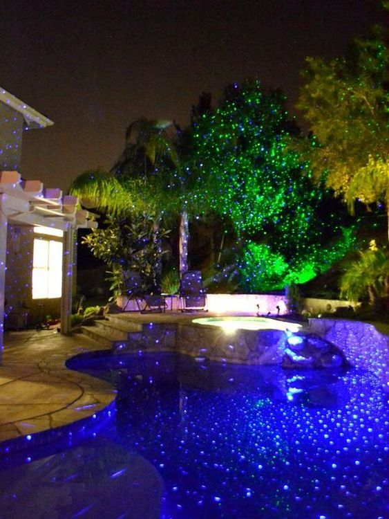 swimming pool lighting ideas 10