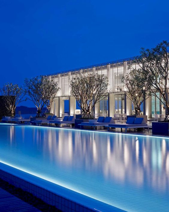 swimming pool lighting ideas 12