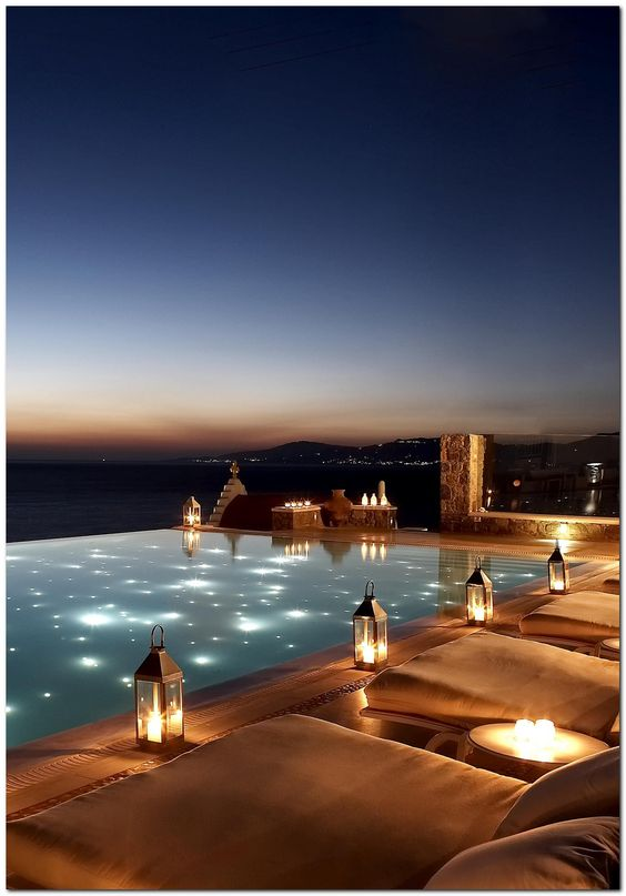 swimming pool lighting ideas 16