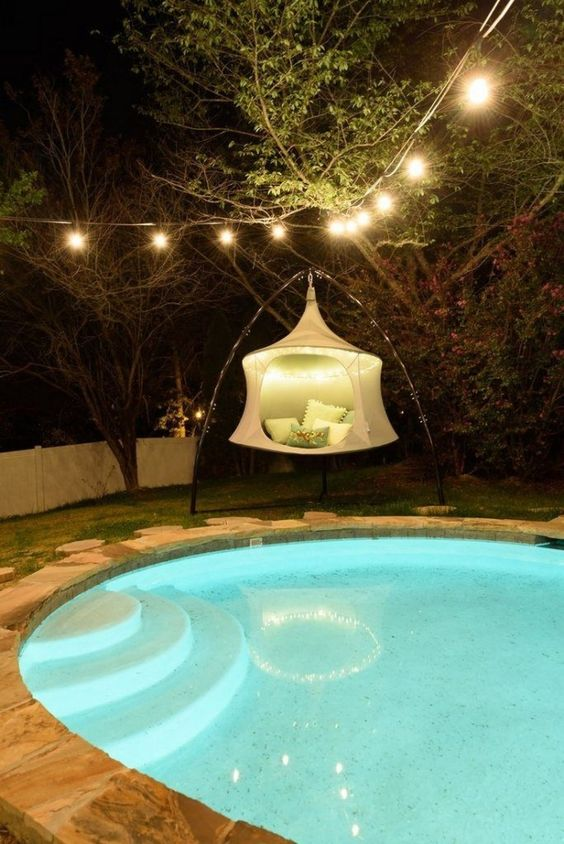swimming pool lighting ideas 5