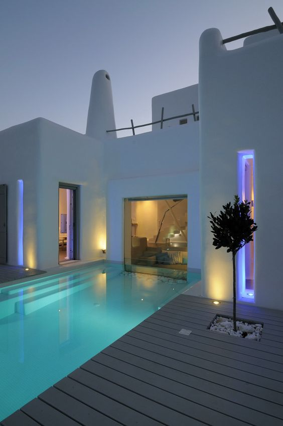 swimming pool lighting ideas 7