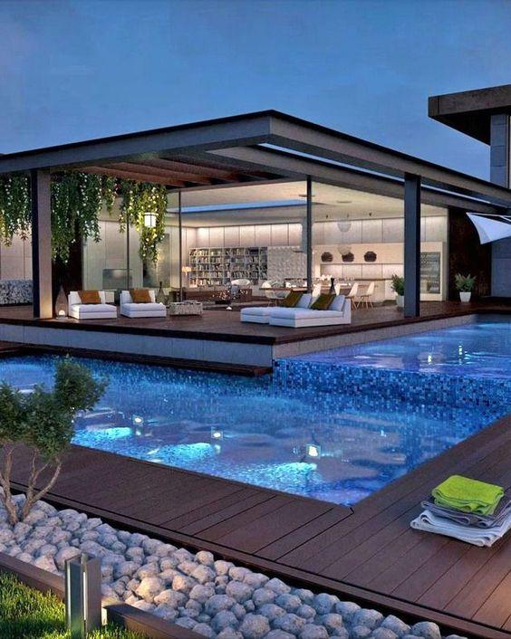 swimming pool lighting ideas 8