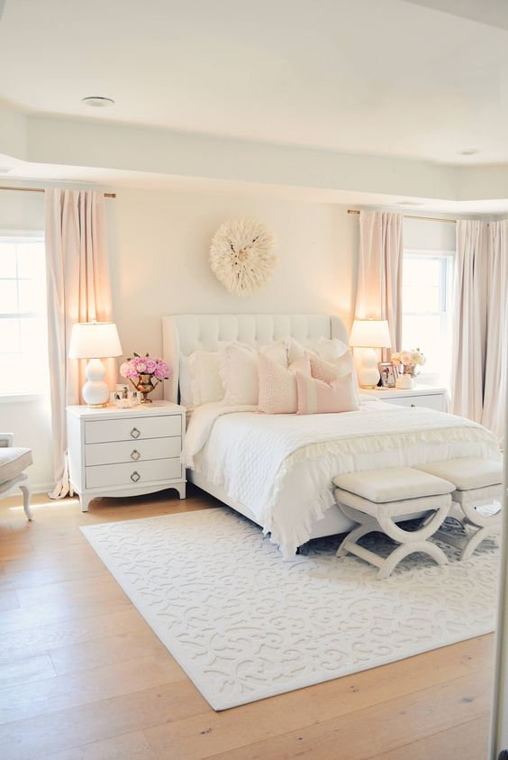 White Bedroom Ideas: Lovely and Elegant