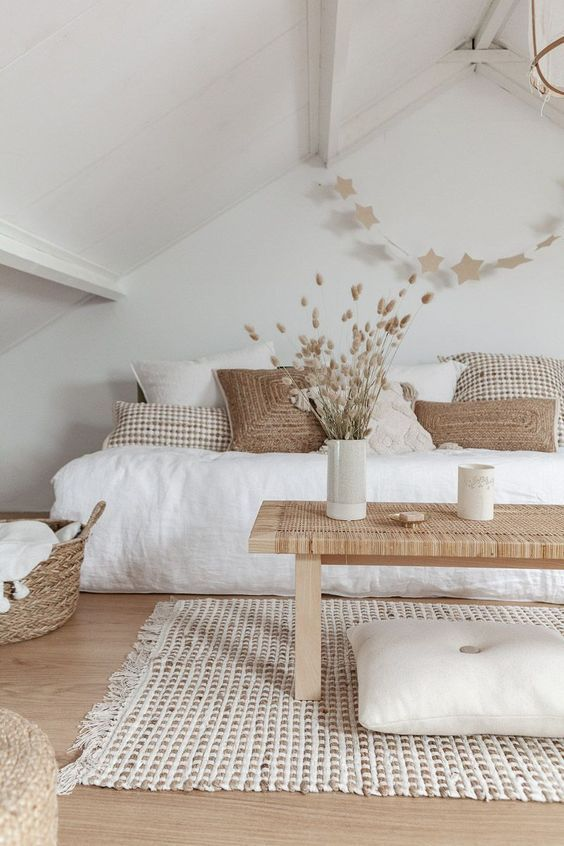 White Bedroom Ideas: The Scandinavian Look