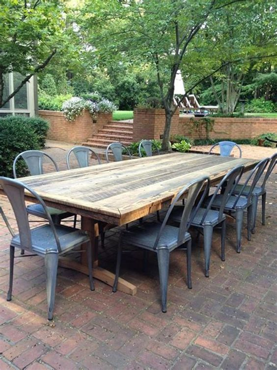 backyard table ideas 10