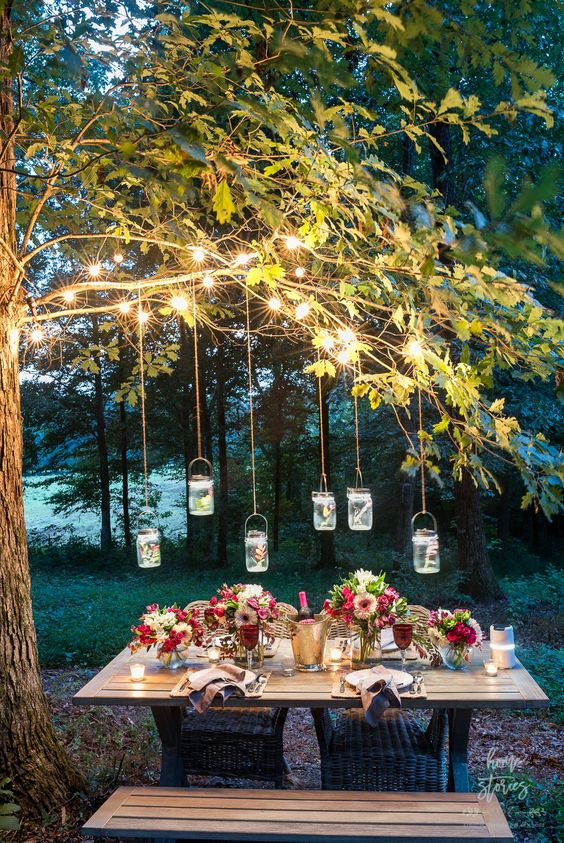 backyard table ideas 12