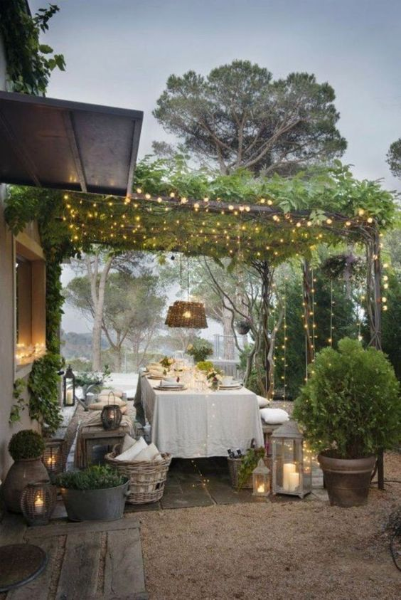 backyard table ideas 7