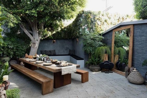 backyard table ideas