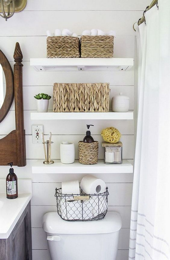 bathroom shelves ideas 15