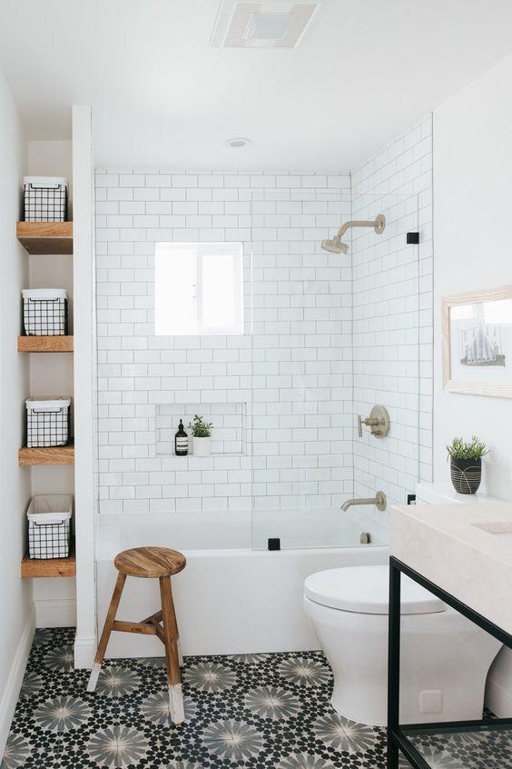 Bathroom Shelves Ideas: Lovely Small Shelves