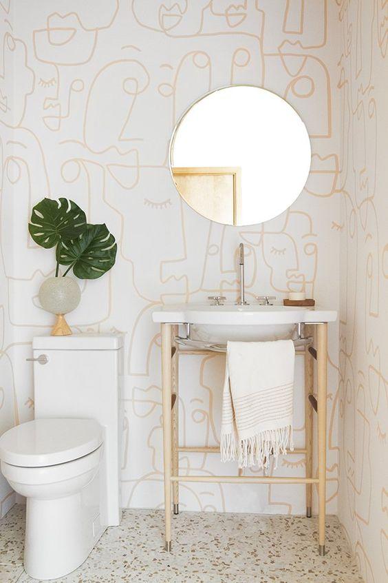 bathroom wallpaper ideas 5