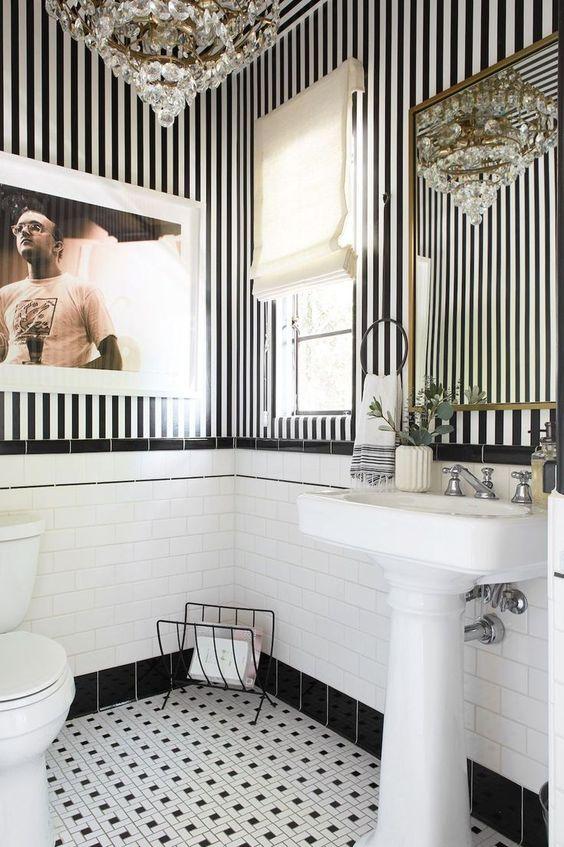 bathroom wallpaper ideas 7